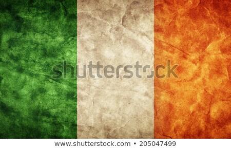 grunge · zászló · Írország · öreg · klasszikus · grunge · textúra - stock fotó © HypnoCreative