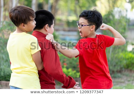 group male students quarreling stock photo © photography33
