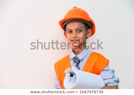 Kids dressed as construction workers Stock photo © photography33