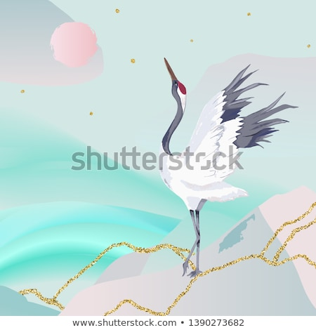 Collage of a crane Stock photo © photography33