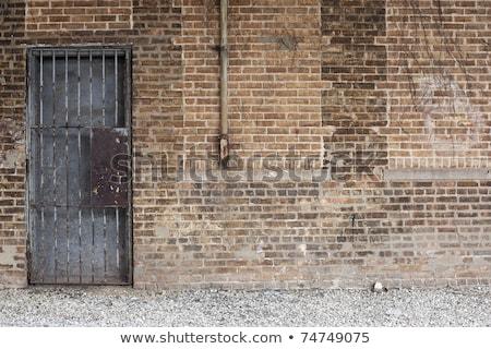 ventilação · sair · sujo · cinza · parede - foto stock © inxti