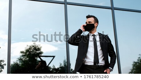 Businessman outside an office building Stock photo © photography33