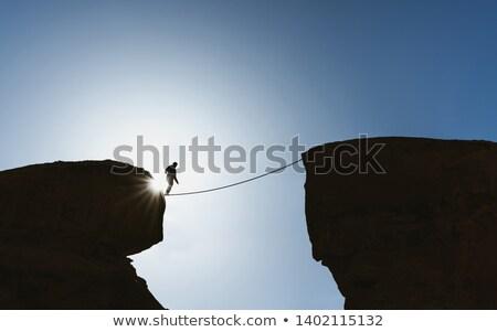 cuerda · aislado · blanco - foto stock © joseph73