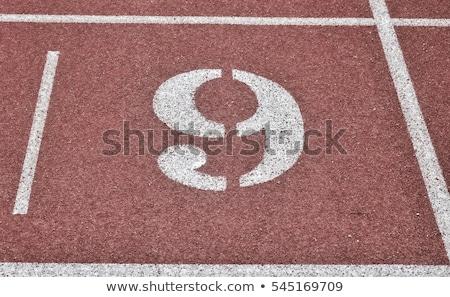 número · nove · corrida · seguir · atletismo - foto stock © stevanovicigor