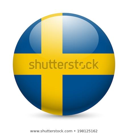 Svezia · mappa · azzurro · gradiente · alto - foto d'archivio © ustofre9