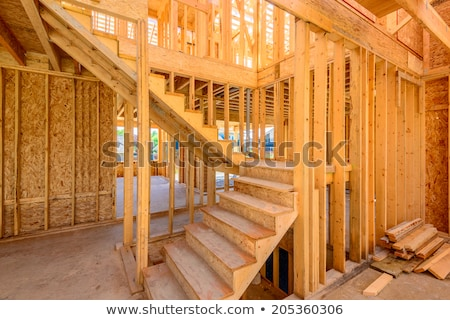 unfinished stairs home interior stock photo © arenacreative