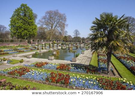 The Sunken Garden and Kensington Palace Stock photo © chrisdorney