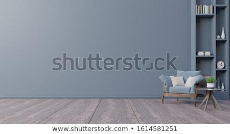 Retro livingroom interior Stock photo © adrian_n