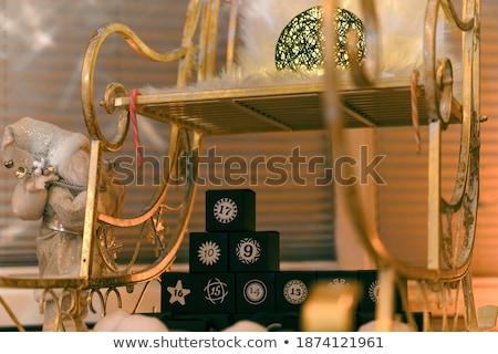 Karrier tervez arany kockák szöveg 3D Stock fotó © marinini