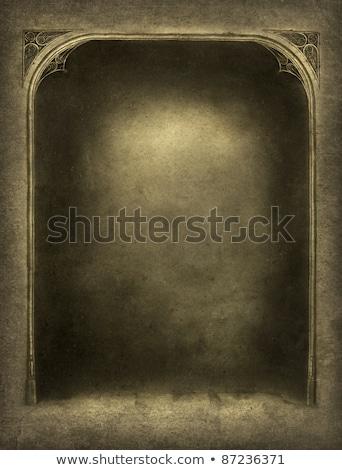 詳細 · 古い · 歴史的 · フレーム · 家 · テクスチャ - ストックフォト © meinzahn