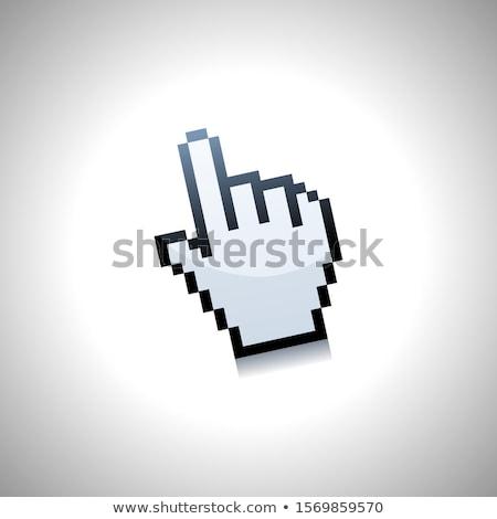 WWW with Hand Cursor. Internet Concept. Stock photo © tashatuvango