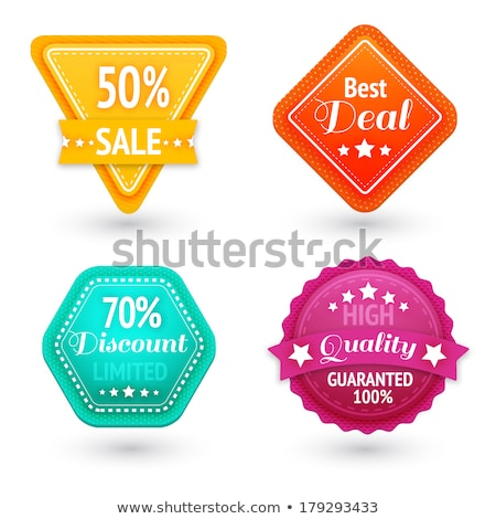 beautiful high quality labels collection stock photo © elmiko