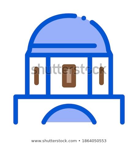 Griekse koepel vectorillustratie Stockfoto © pikepicture