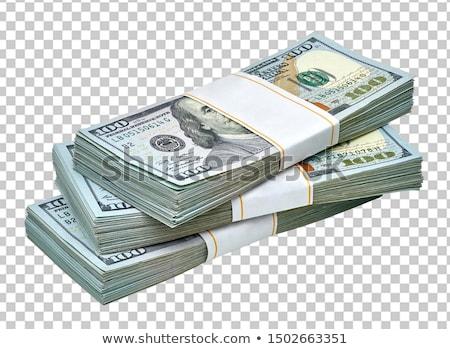 Dolarów sto tle finansów pieniężnych Zdjęcia stock © Valeriy