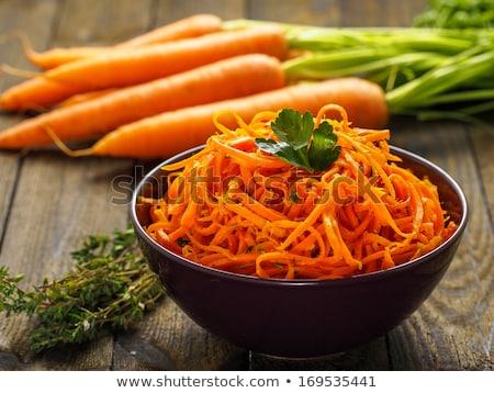 Salad of carrots stock photo © XeniaII
