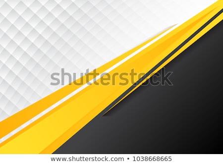 Stockfoto: Geel · witte · mooie · lang · vrouw · lingerie