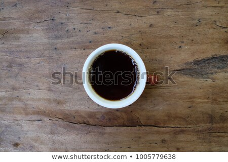 Overhead shot of cup of coffee Stock photo © wavebreak_media