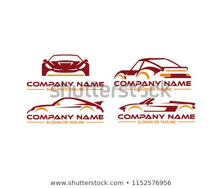 Car with abstract lines logo design concept  Stock photo © shawlinmohd
