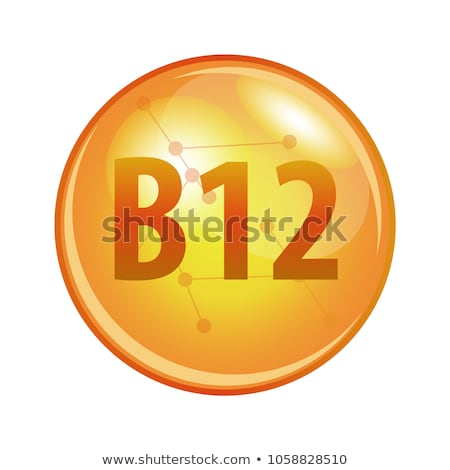Vitamin B12 icon stock photo © netkov1