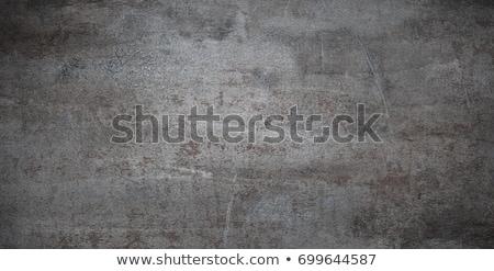 Enferrujado metal prato textura forma cortar Foto stock © stevanovicigor