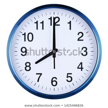 ver · icono · reloj · logo · gris · oficina - foto stock © cidepix