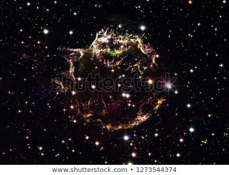 Cassiopeia A - colourful aftermath of a violent stellar death. Stock photo © NASA_images