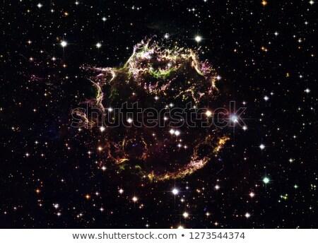 explosão · elementos · imagem · fundo · espaço - foto stock © nasa_images