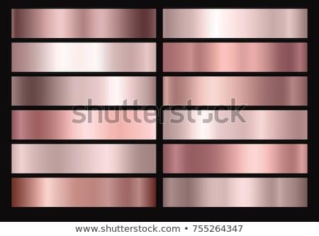 対称の · パターン · バラ · 金 - ストックフォト © blackmoon979