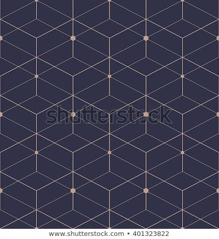 Diamond rhombus seamless texture, vector illustration Stock photo © carodi