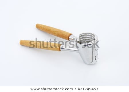 Ceviz Metal ahşap temizlemek boş Stok fotoğraf © Digifoodstock