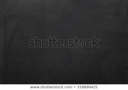 Blank vintage chalk board background Stock photo © ildogesto