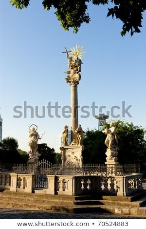 Plague Column of St.Trinity, Bratislava, Slovakia Stock photo © phbcz