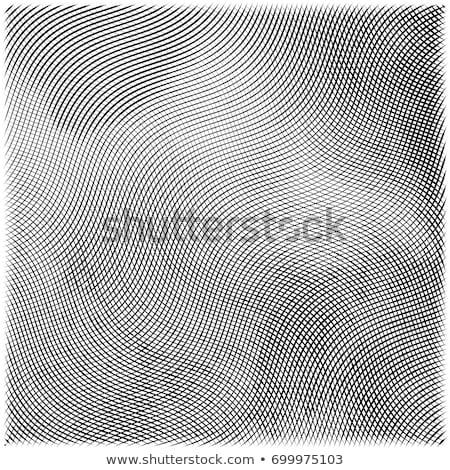 Vecteur gravé blanc noir dramatique ciel nuages Photo stock © kostins
