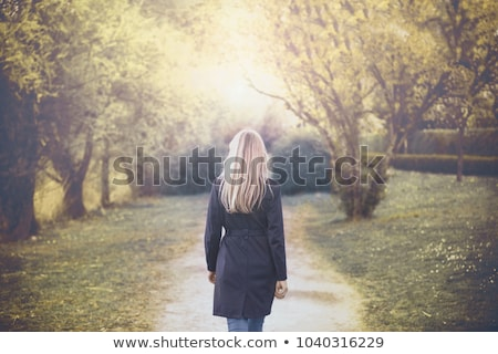 Focus on a woman back Stock photo © wavebreak_media