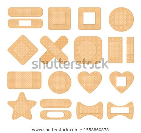 Tapasz ikon különböző stílus vektor szimbólum Stock fotó © sidmay