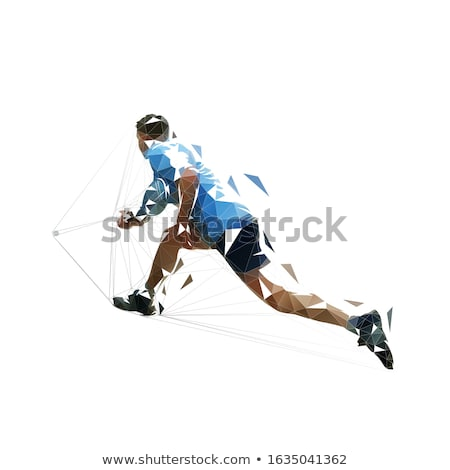 jouer · squash · joueur · action · fitness · train - photo stock © is2