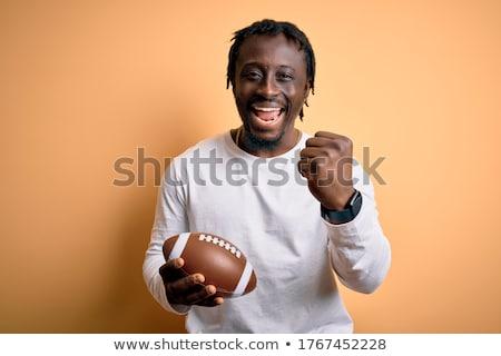 регби человека мужчины сидят Сток-фото © IS2
