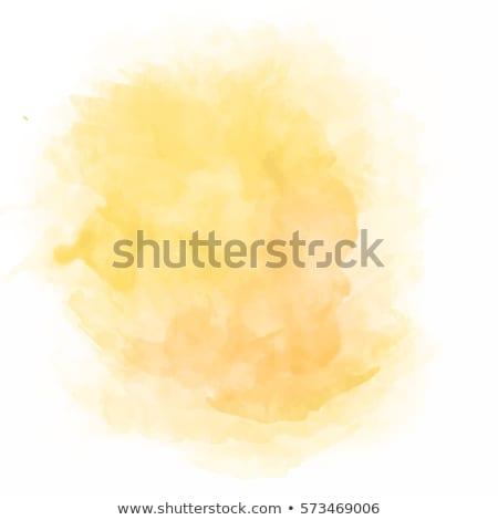осень акварель всплеск реклама баннер вектора Сток-фото © kostins