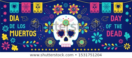 day of the dead website banners stock photo © anna_leni