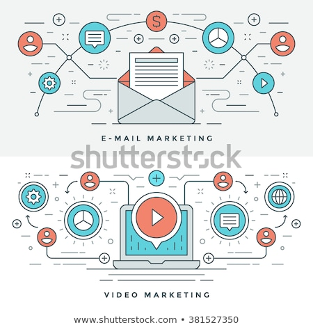 video content marketing concept banner header stock photo © rastudio