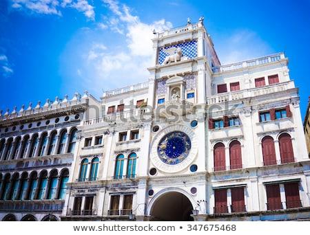 astrologia · clock · zodiaco · piazza · Venezia · blu - foto d'archivio © vapi