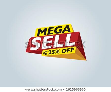 Diwali verkoop 25 af teken feestelijk Stockfoto © robuart