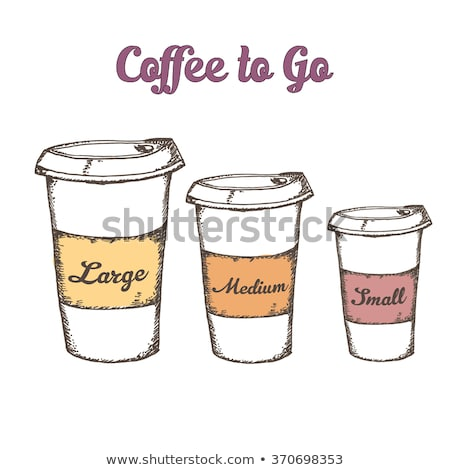 rétro · manuel · café · moulin · mug - photo stock © arkadivna