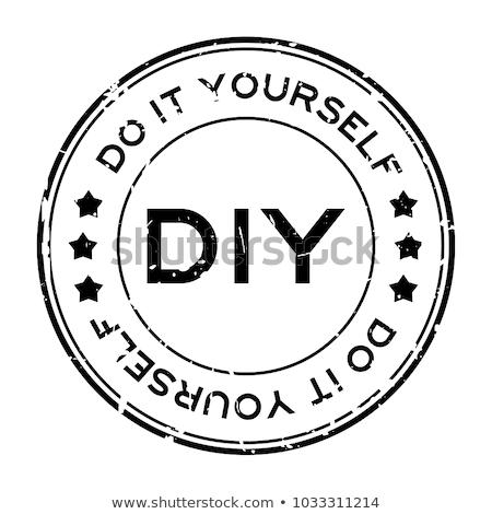 Csináld magad javítás szalag fejléc ezermester nagy Stock fotó © RAStudio