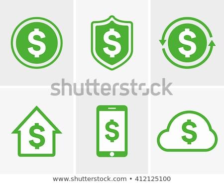 USA dollar logo wereld valuta business Stockfoto © alexaldo