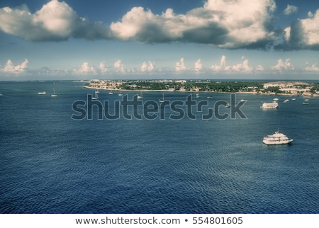 Georgetown waterfront, Cayman Islands Stock photo © jsnover