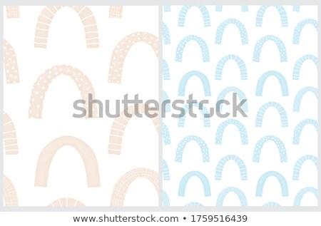 Decorativo simple caer de moda medios tonos diseno Foto stock © ExpressVectors