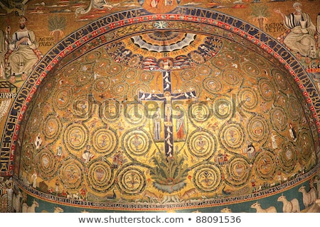 Basilica of San Clemente, Rome Stock photo © borisb17