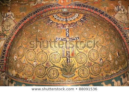 basílica · Roma · romano · católico · dedicado - foto stock © borisb17