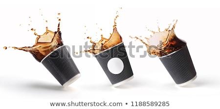 кофе пластиковых Кубок из напиток Сток-фото © robuart